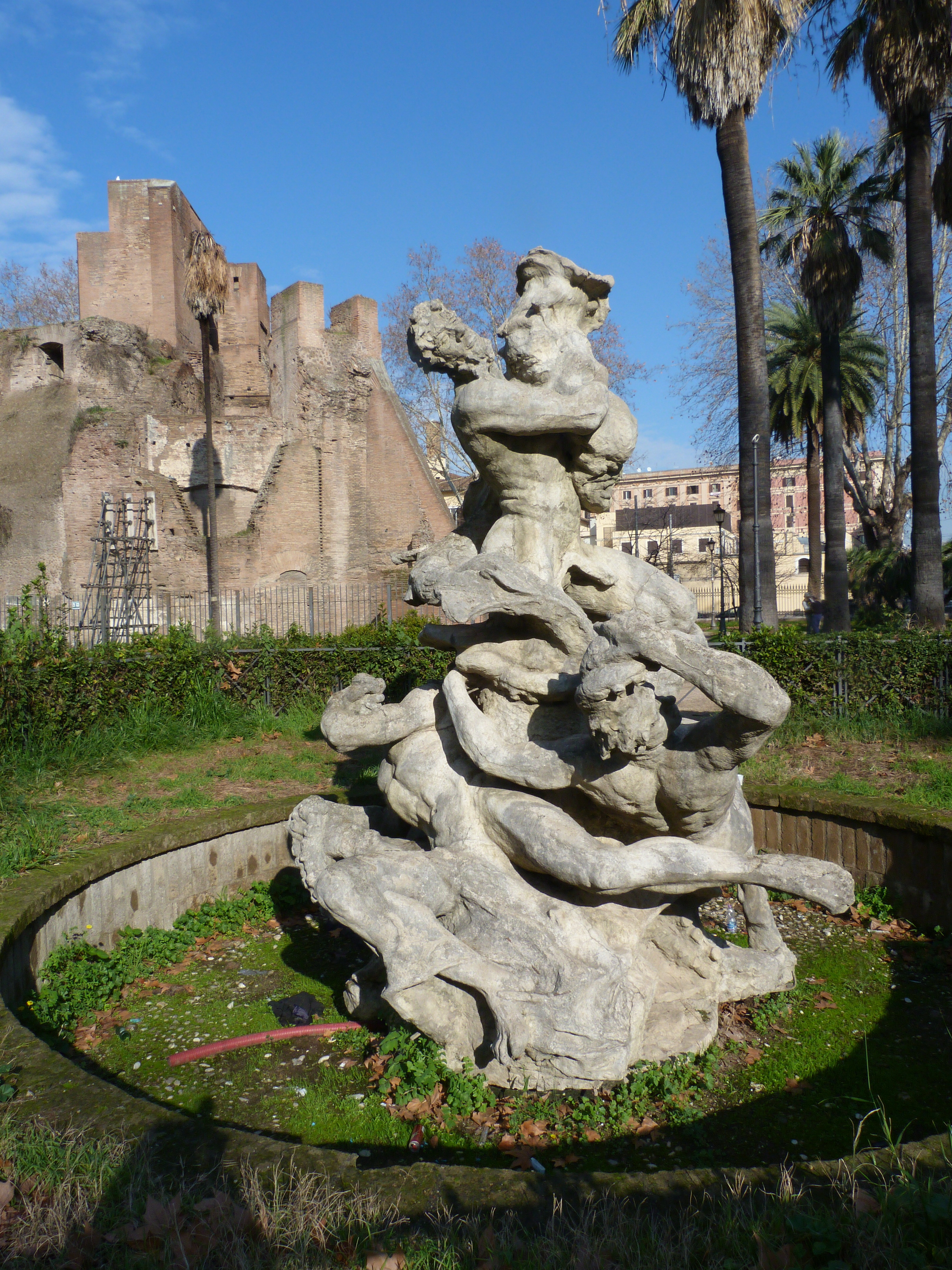 Fontana del Fritto Misto roma point of view